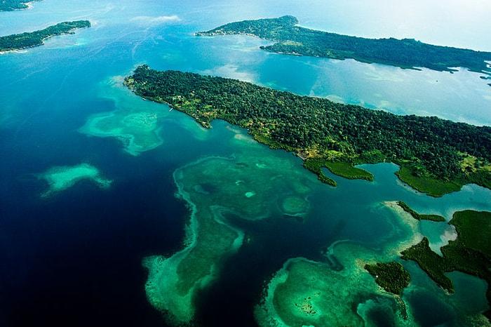 Bastimentos Island in Bocas del Toro, Panama.