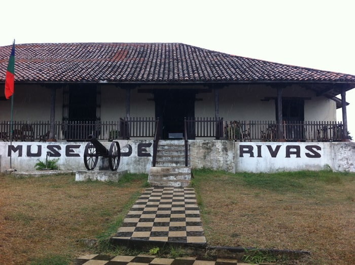 Nicaragua's Rivas Museum was the site of a battle in 1855 between a Nicaraguan army and U.S. adventurers seeking to seize control of the country.