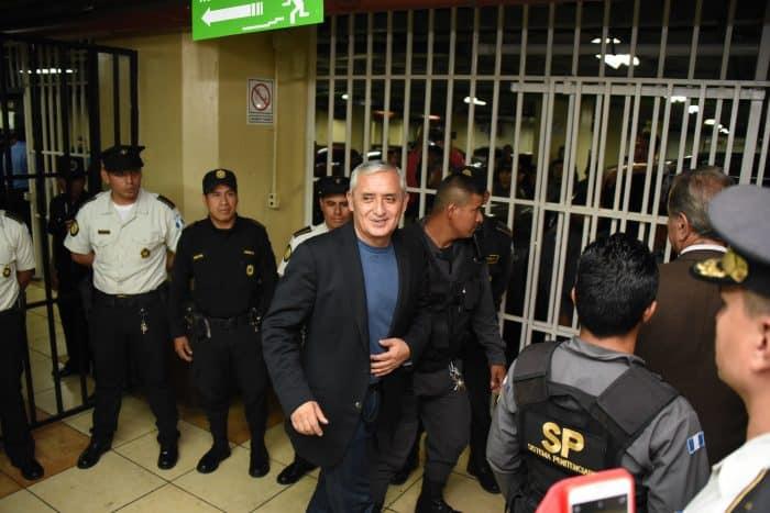 Guatemala ex-President Otto Pérez Molina.