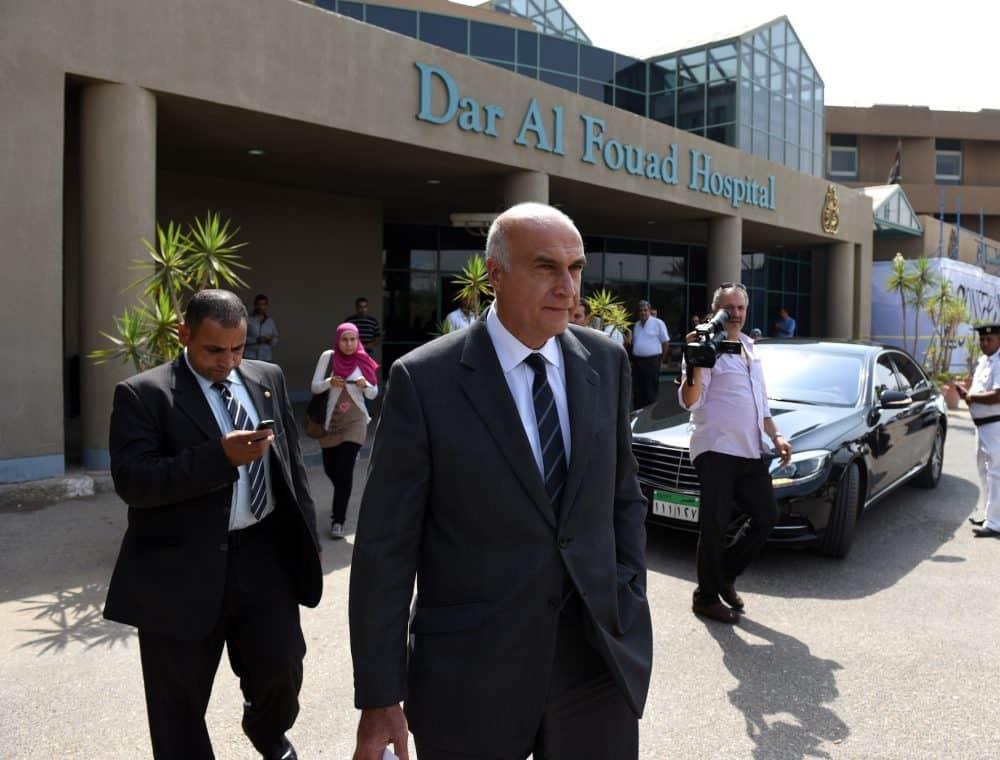 Egyptian Tourism Minister Khaled Ramy