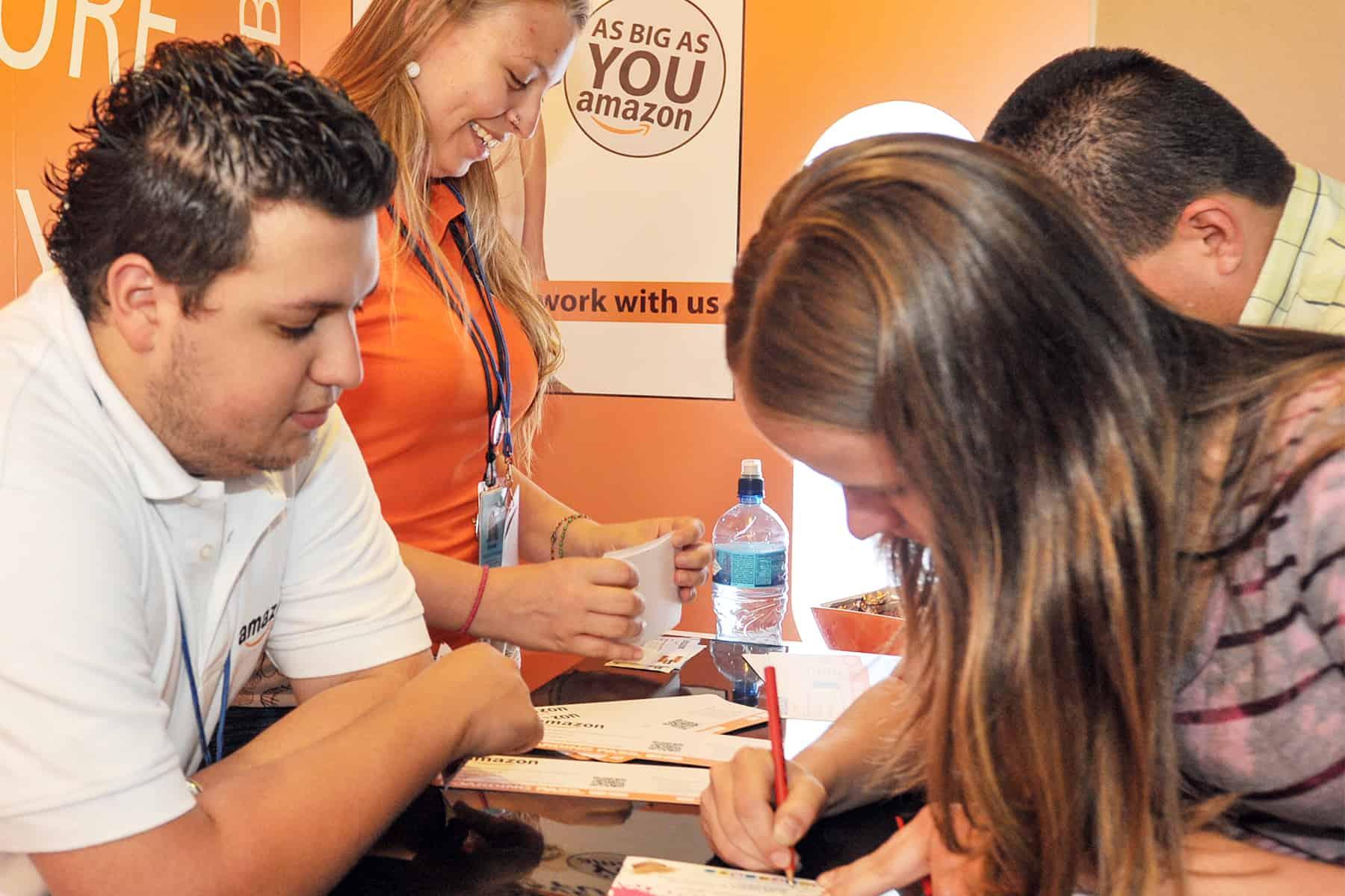 Amazon job fair in Costa Rica
