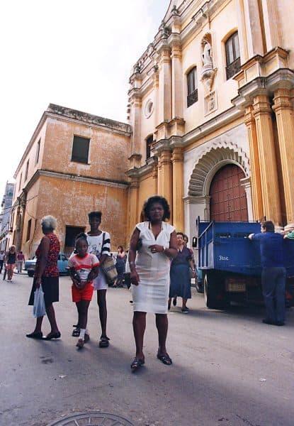 La Merced Church in Havana.