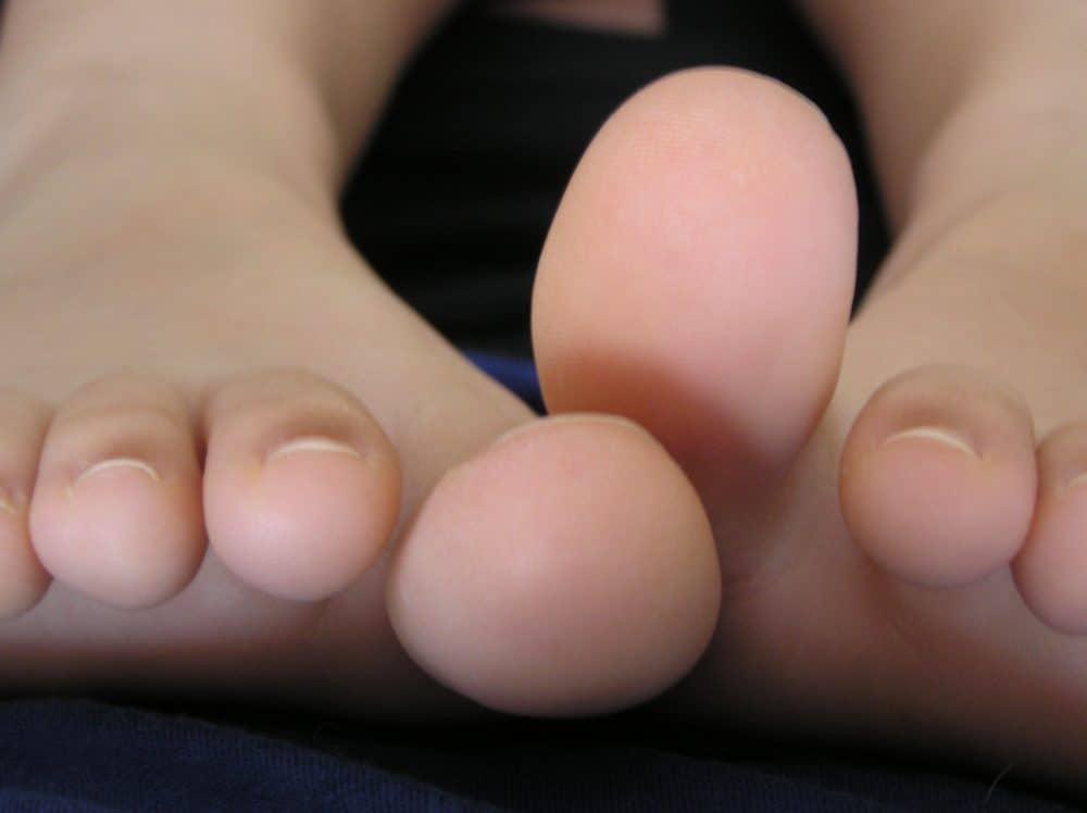 Toes study.