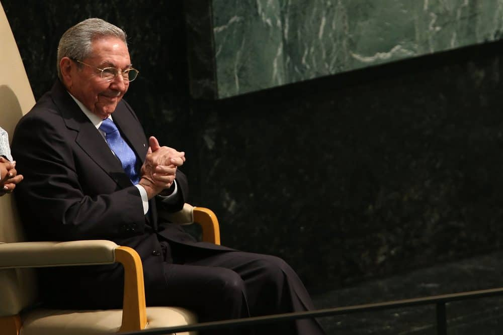 Raúl Castro at the U.N.