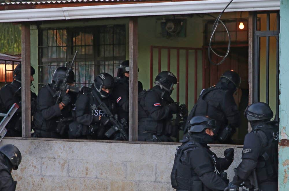 homicide raid