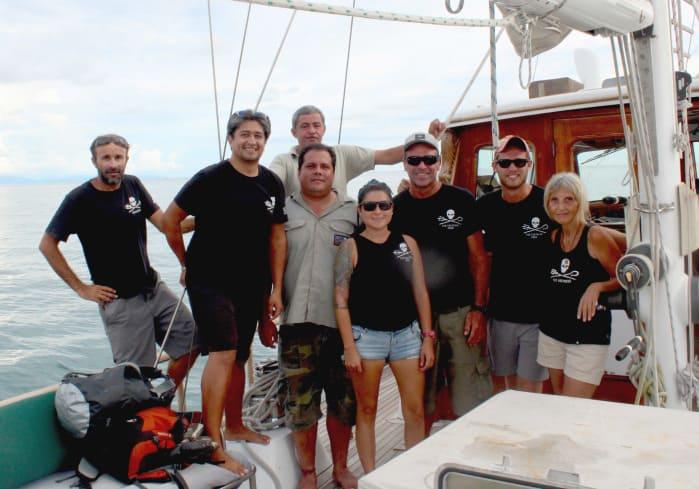 Sea Shepherd crew.