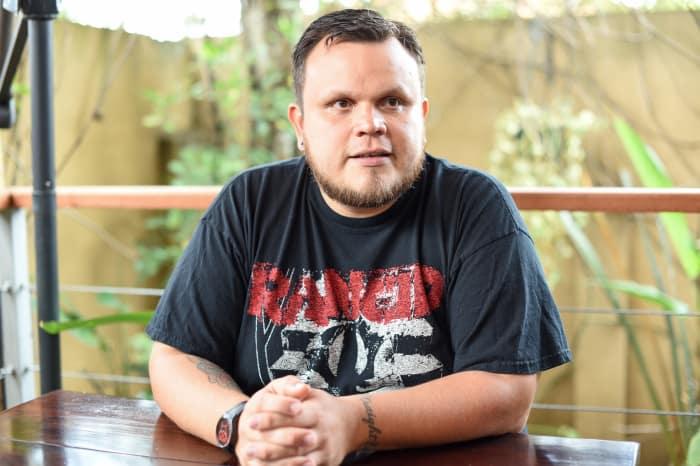 Producer Alejandro Guerrero.