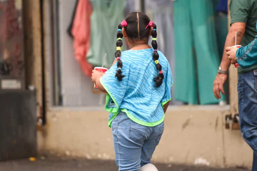 Costa Rican child