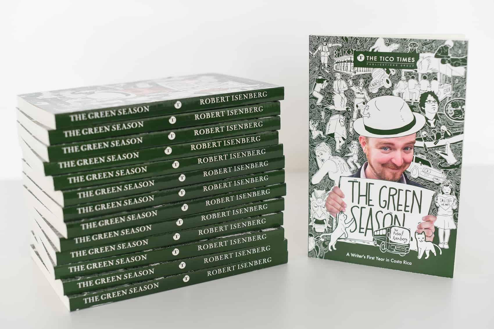 "Stacks of ""The Green Season"""