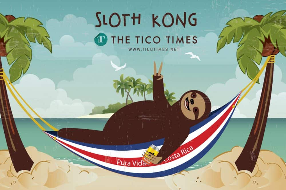 Sloth Kong Says Happy Independence Day Costa Rica The