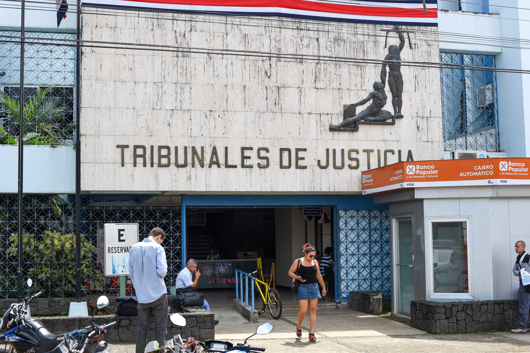 "The court complex in the southern Pacific canton of Pérez Zeledón, where U.S. expat Ann Patton received a ""not guilty"" verdict on Monday, Sept. 7, 2015"