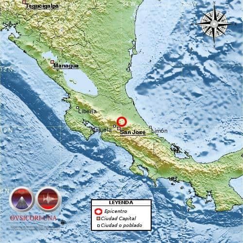 earthquake map