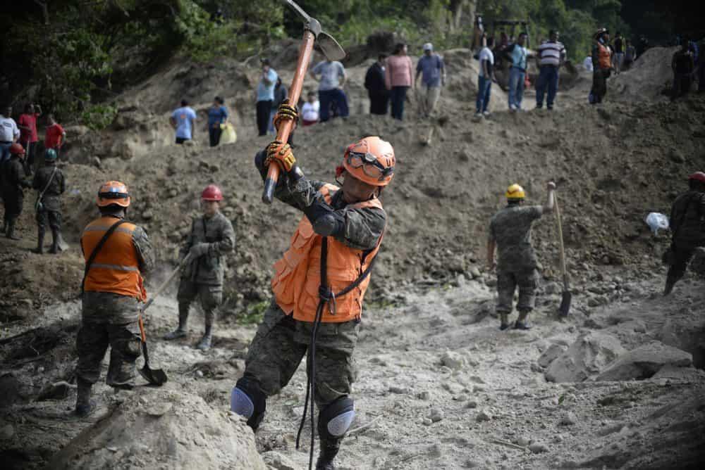 Guatemala landslide.