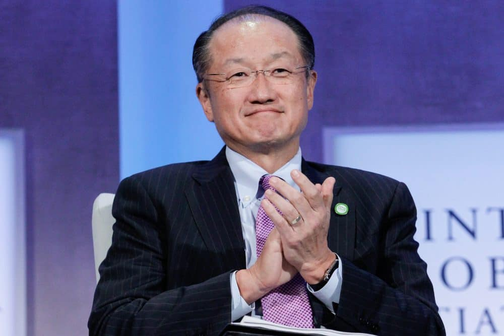 Jim Kim, World Bank president.
