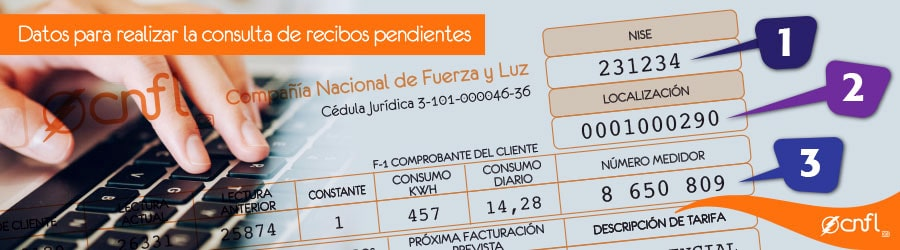 Electricity bill information