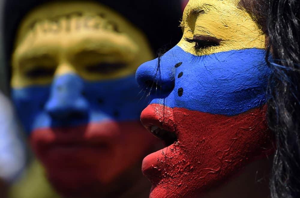 Venezuela protest.