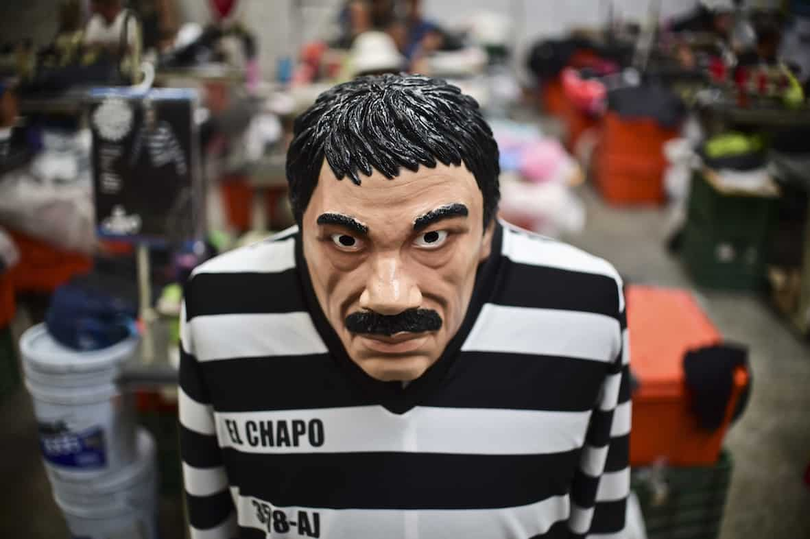 El Chapo Guzmán costume