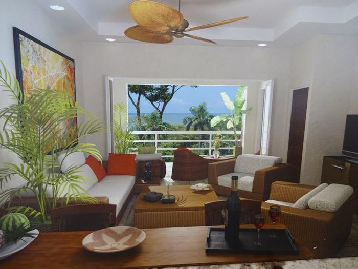 Artist's rendering of Condominios del Parque Caribe.