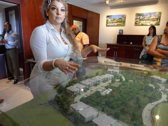 Parque Caribe sales director Wendy Alpizar.