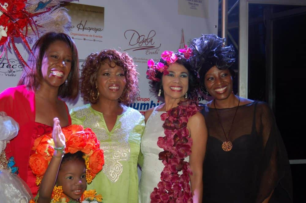 Attendees at the 2013 edition of the Flowers of the African Diaspora festival included actress Alfre Woodard.