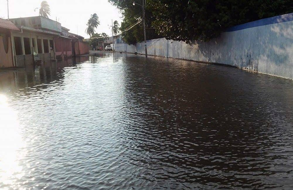 flooded Puntarenas street