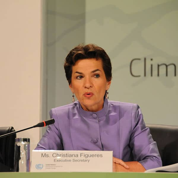 Winners and losers: Christiana Figueres