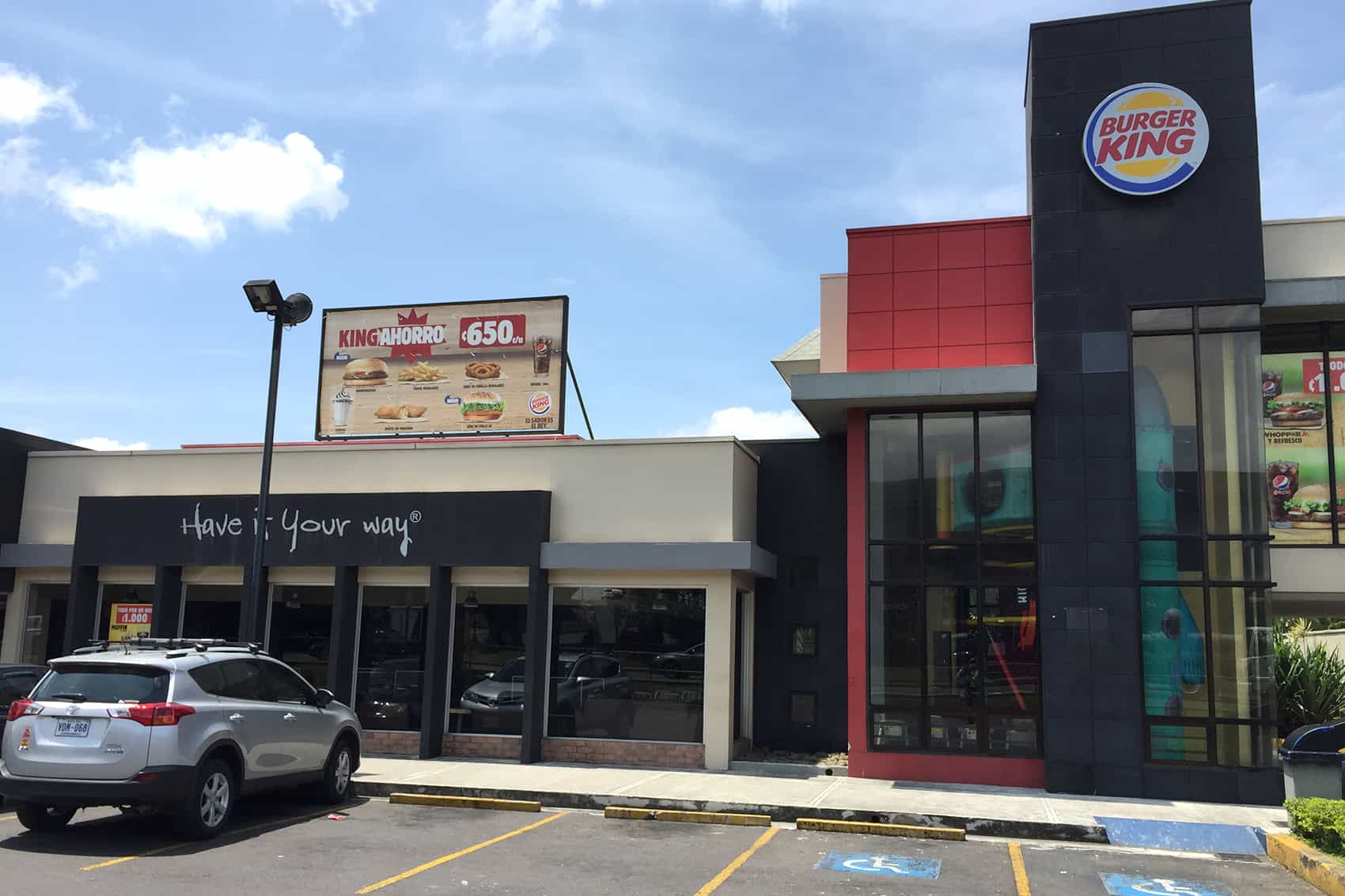 Burger King in San Pedro