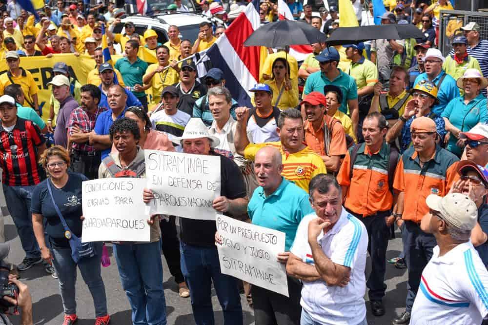 Costa Rica strike