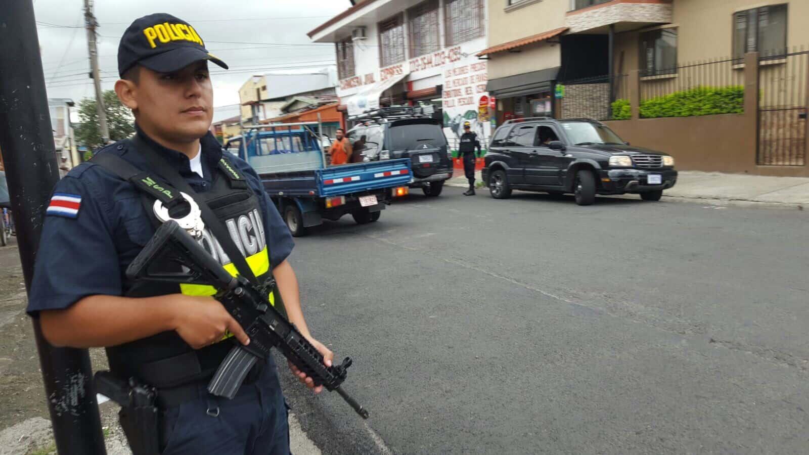 Costa Rica crime wave raids