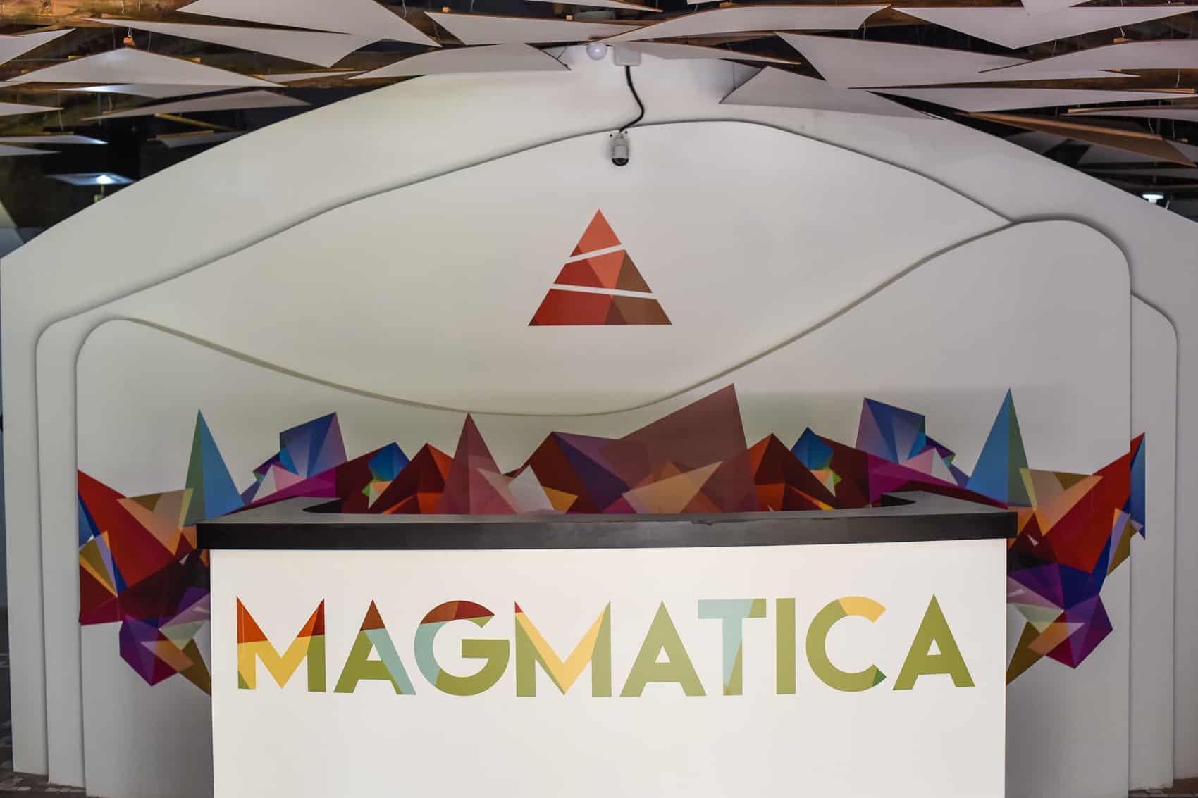 Earthquake simulator Magmática.