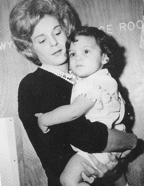 Marita Lorenz with young Monica.
