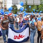 Public workers tell the Costa Rican government to leave their salaries alone