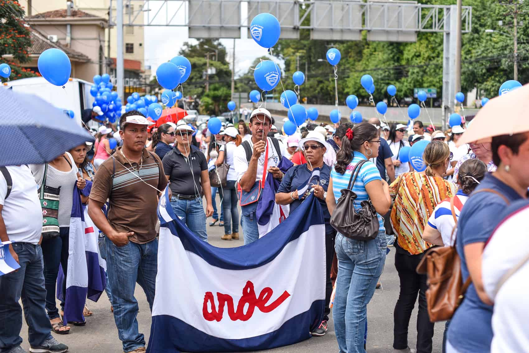 Public workers' demonstration. Oct. 16, 2015.