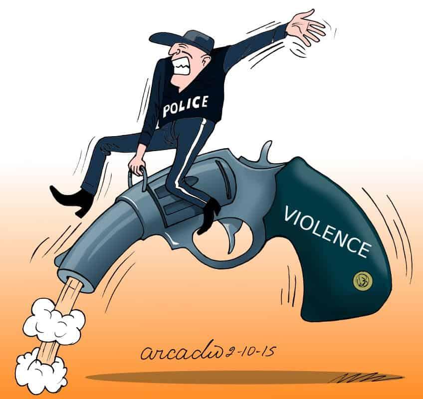 Arcadio gun violence.