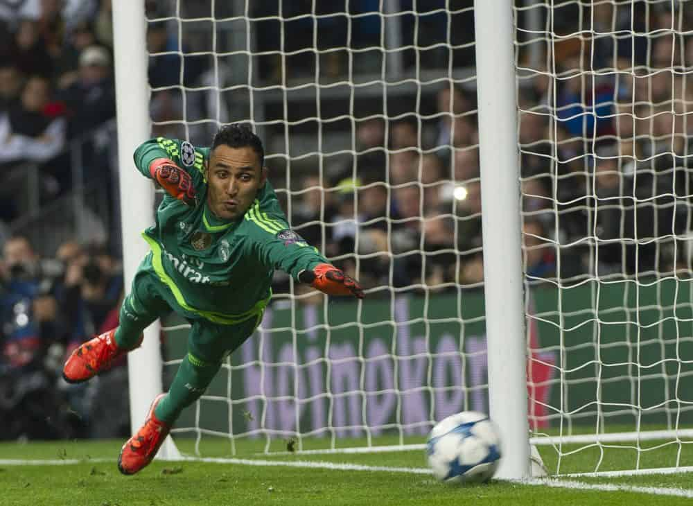Keylor Navas injury report