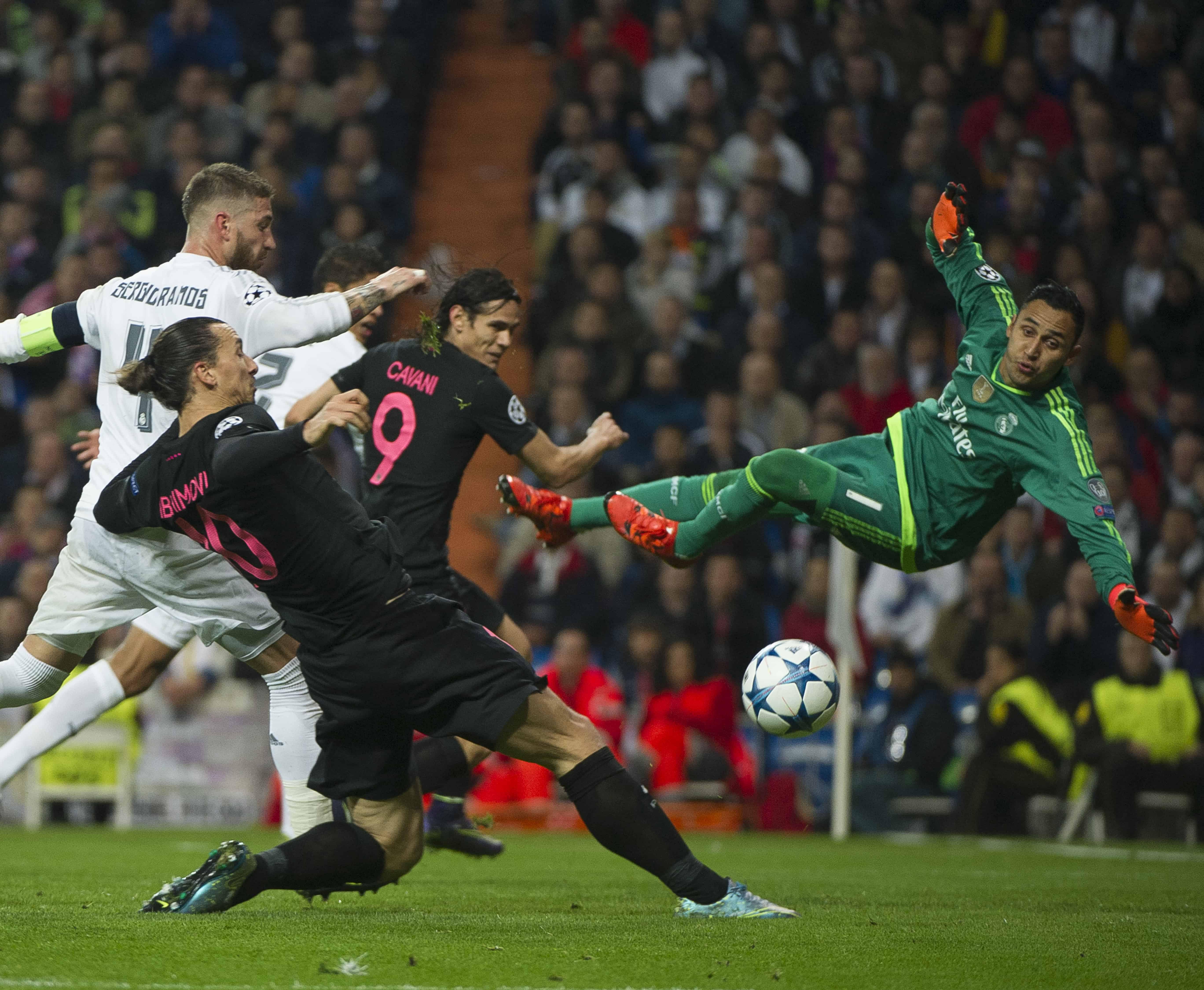 Keylor Navas vs PSG