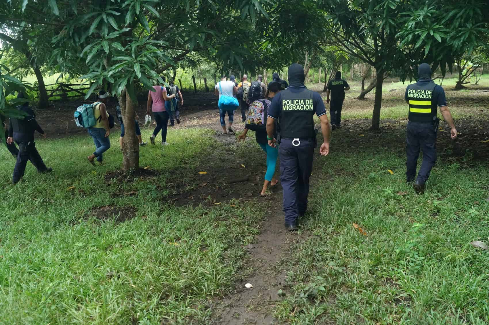 Cuban migrants smuggling raid