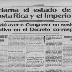 Costa Rica fought – briefly – in World War I