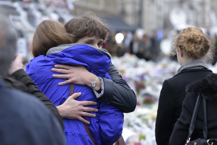 Paris attacks families