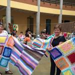 Costa Rican knitters provide comfort to Syrian refugees