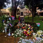Costa Rica honors French terror victims in Parque Francia