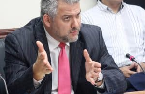 Public Works and Transport Minister Carlos Segnini