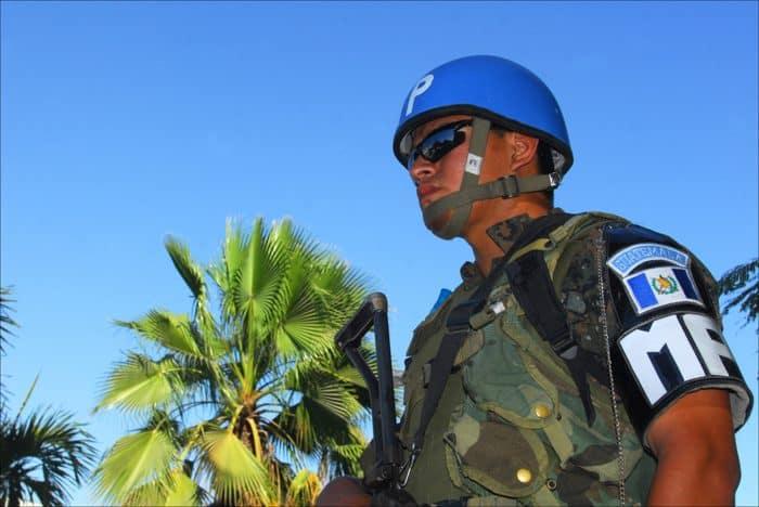 Haiti peacekeeper