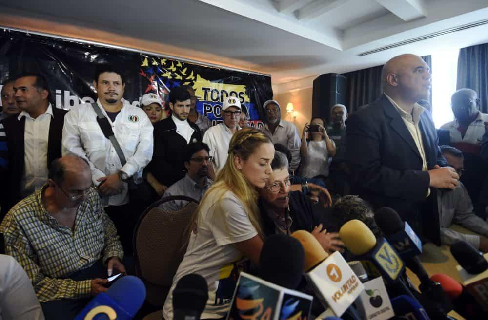 Venezuela opposition leader Lilian Tintori