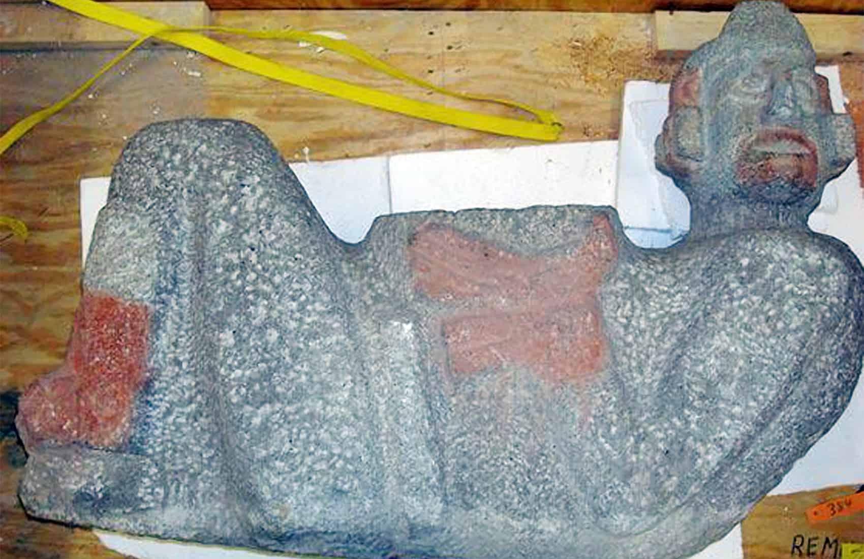 Chac mool Mexican artifact
