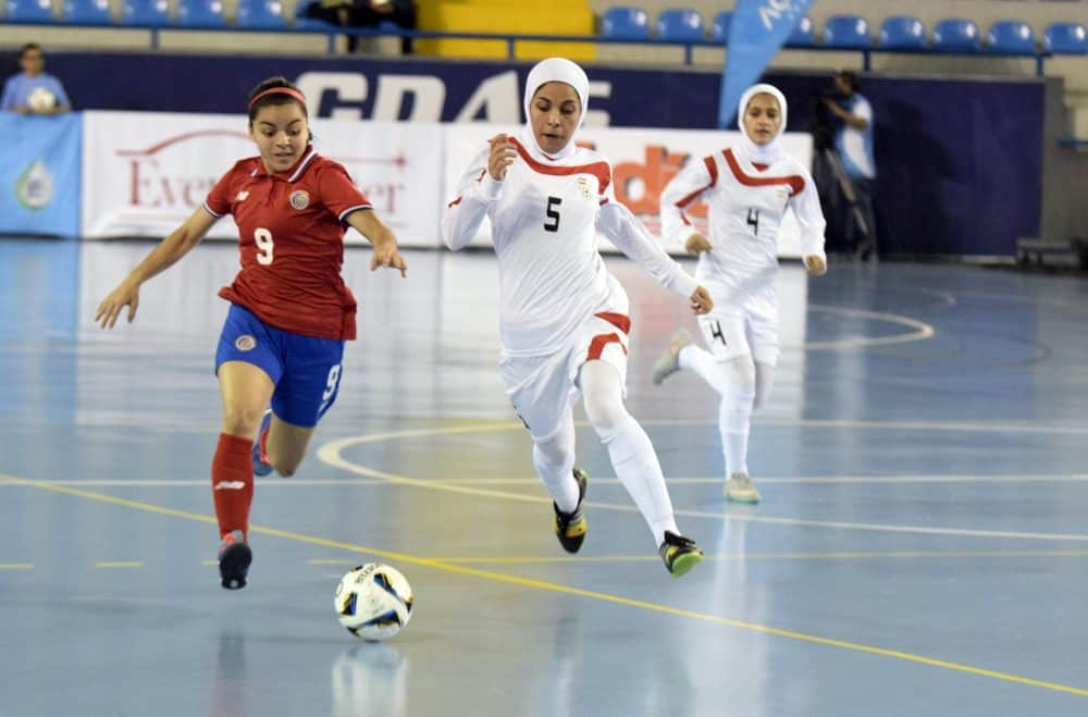 Iran Loses to Costa Rica at Women
