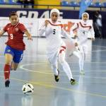 Costa Rica women's futsal team beats Iran in the VI Women's Futsal World Tournament