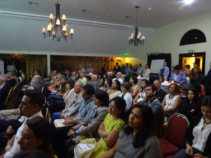 Audience at the opening of the XI Latin American Congress of Private Nature Reserves.