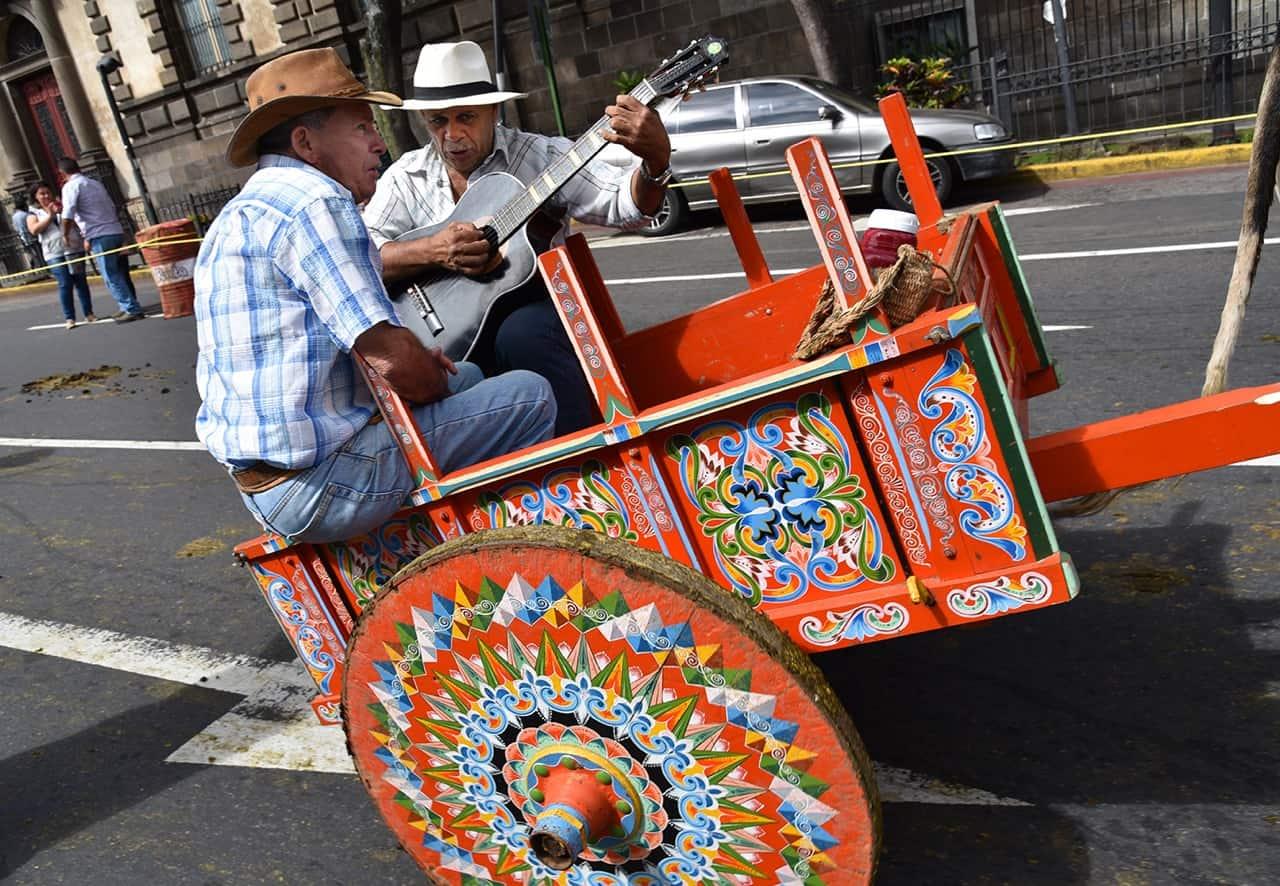 Costa Rican oxcarts