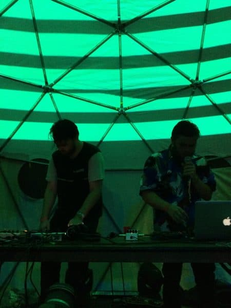 Raido and Pollux live in action. Elizabeth Lang/ The Tico Times
